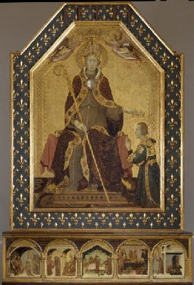 Louis of Toulouse , Simone Martini
