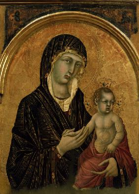 Simone Martini, Mary with Child
