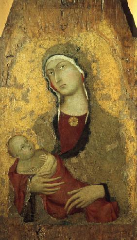Simone Martini, Virgin and Child (Siena)