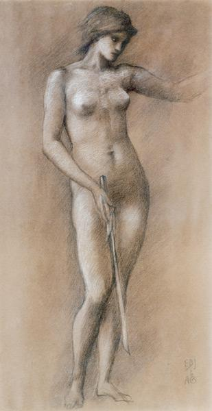 Burne-Jones, Sir Edward : Life Drawing