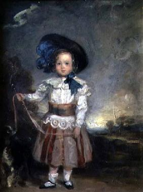Admiral Lord Charles Scott as a Boy