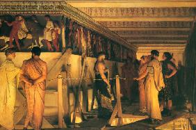 Phidias Showing the Frieze of the Parthenon to his Friends