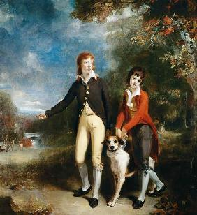 Portrait of Charles Chetwynd-Talbot, Viscount Ingestre and His Brother
