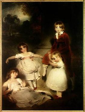 The Children of John Angerstein (1735-1823)