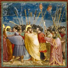 Arrest of Christ / Giotto / c.1303/05