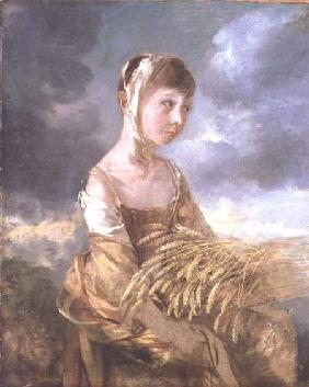 Miss Gainsborough Gleaning