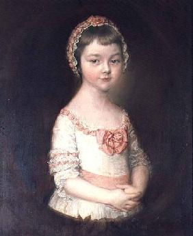 Georgiana Spencer, afterwards Duchess of Devonshire