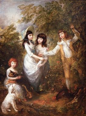Thomas Gainsborough , Marsham Children