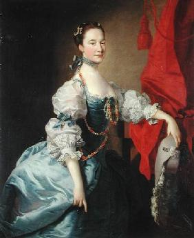 Portrait of a Lady in a Blue Gown