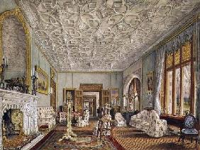 Drawing Room in the Gothic Style
