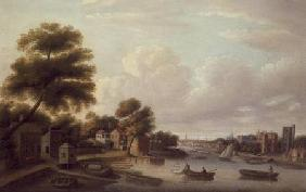 View of the Thames at Lambeth Palace