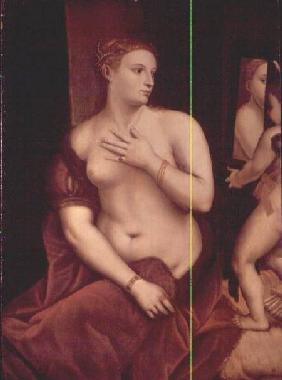 Venus in Front of the Mirror