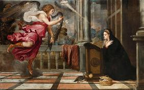 Annunciation to Mary / Titian / c.1540