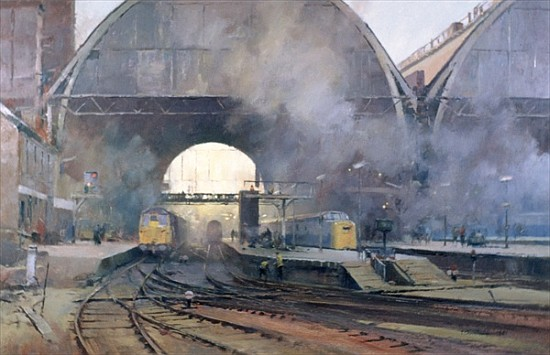 Trevor Chamberlain ROI, RSMA b.1933 - Island Fine Arts