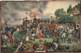 A Sacred Moment after the Battle of the Nations on October 18, 1813