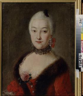 Portrait of Countess Yekaterina Lobanova-Rostovskaya (1735-1802)