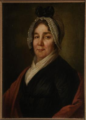 Portrait of Lyubov Petrovna Bakunina, née Countess Myshetskaya (1738-1814)