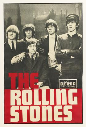 The Rolling Stones. Poster for the Paris Olympia