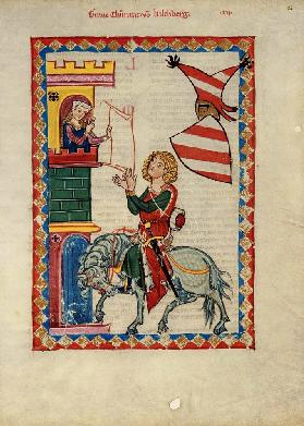Count Konrad von Kirchberg (From the Codex Manesse)
