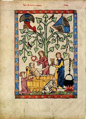 (From the Codex Manesse)