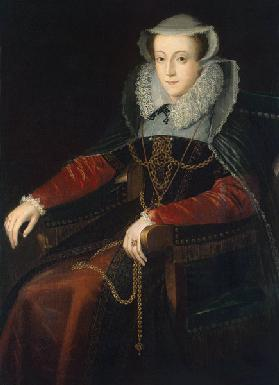 Portrait of Mary Stuart, Queen of Scots