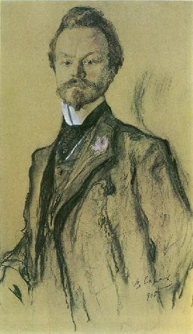 Portrait of the poet Konstantin Balmont
