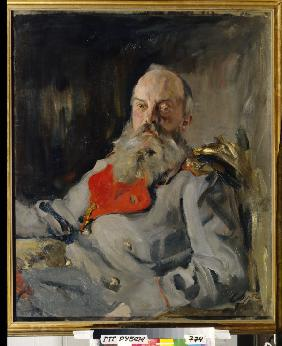 Portrait of Grand Duke Michael Nikolaevich of Russia (1832-1909)