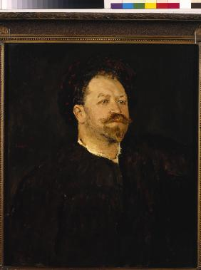 Portrait of the opera singer Francesco Tamagno (1850-1905)