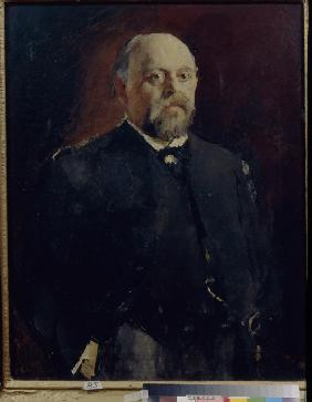 Portrait of Savva Mamontov (1841-1918)