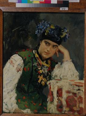 Portrait of Sofia Dragomirov