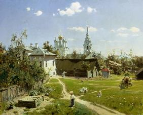 Polenov, Vasilij Dimitrijewitsch : A Small Yard in Moscow