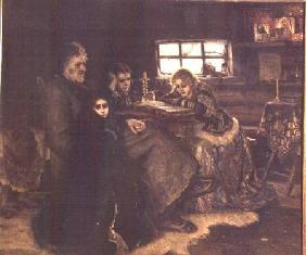 The Menshikov Family in Beriozovo