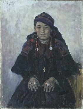 Portrait of a Cossack Woman