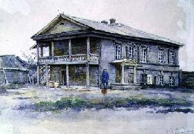 Surikov's House at Krasnoyarsk