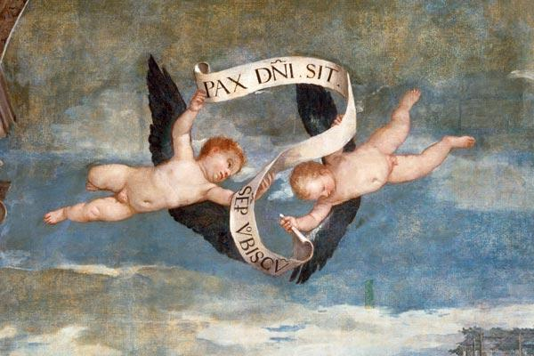 P.Veronese / Angel with Banner / Ptg.