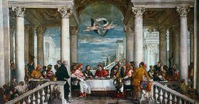 P.Veronese / Banquet of Gregory th.Great