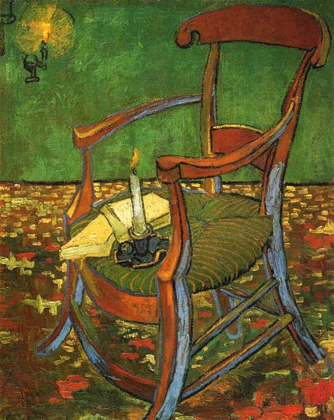 Gauguins Chair Vincent Van Gogh As Art Print Or Hand
