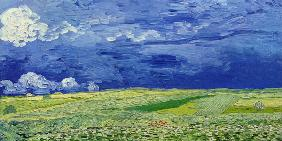 van Gogh, Vincent : Field under storm sky