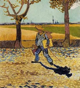 van Gogh, Vincent : The painter on the way to ...
