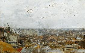 van Gogh, Vincent : View of Paris from Montmar...