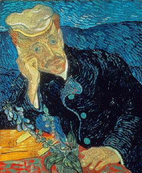 van Gogh, Vincent : Portrait of Dr. Gachet