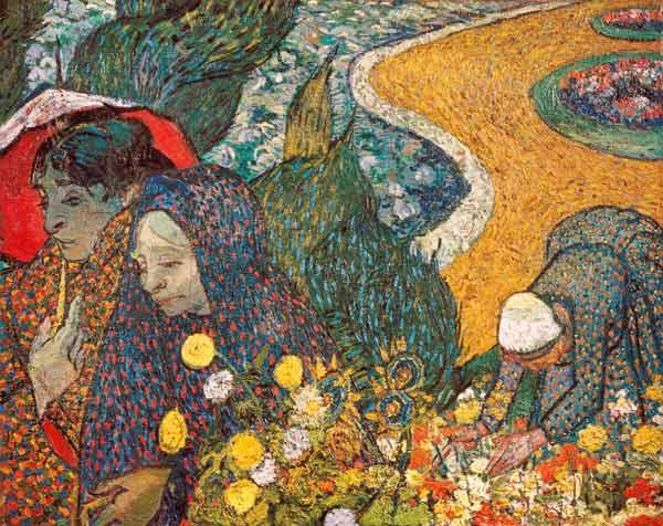 van Gogh, Vincent : Ladies of Arles (Memories ...