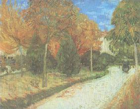 Path in the Park at Arles