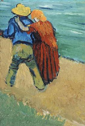 A Pair of Lovers, Arles 1888