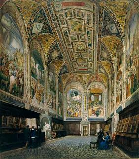The Piccolomini Library, Siena