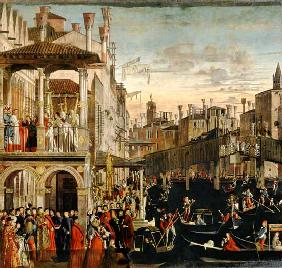 The Miracle of the Relic of the True Cross on the Rialto Bridge