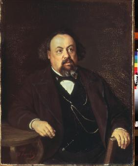 Portrait of the author Aleksey Pisemsky (1821-1881)