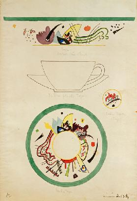 Sketch for a cup and saucer