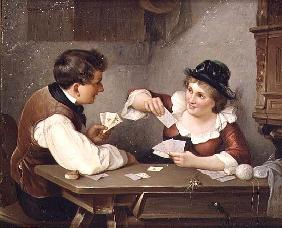 Flockenhaus, Wilhelm W. : Playing cards