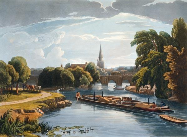 Abingdon Bridge and Church
